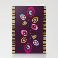 Folk Variation Stationery Cards