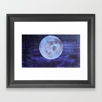 I See The Moon (And The … Framed Art Print