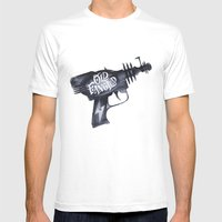 Old Fangled Mens Fitted Tee White SMALL