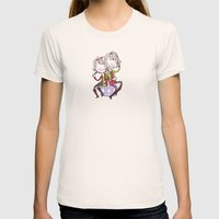 Gemini Cuties Womens Fitted Tee Natural SMALL