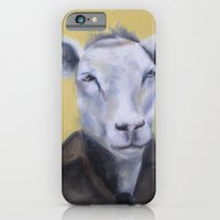 Sheep Portrait iPhone 6 Slim Case