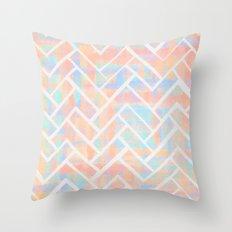Chevroni Beach Throw Pillow