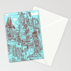 San Francisco! (Turquoise) Stationery Cards