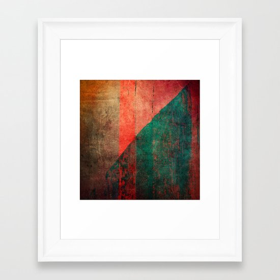 A Idade da Terra (The Age of the Earth) Framed Art Print