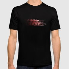 Motorcycle Rider Black SMALL Mens Fitted Tee