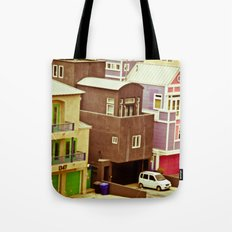 Colorful Condos Tote Bag