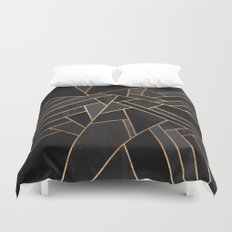 Black Night Duvet Cover
