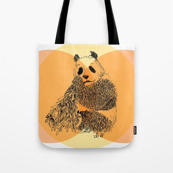 saving panda Tote Bag