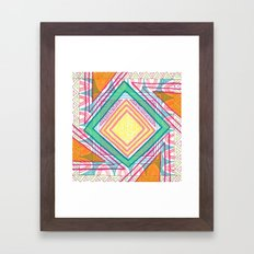 The Future : Day 12 Framed Art Print