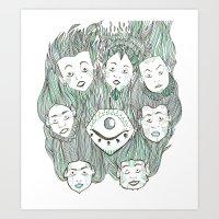 Blind Vision Art Print
