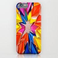 iPhone & iPod Case featuring rainbow explosion by Amanda Thomas