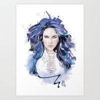 Alissa White Gluz  Art Print