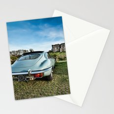 Classic car with a view Stationery Cards