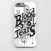 Blood, Sweat, & Tears iPhone 6 Slim Case