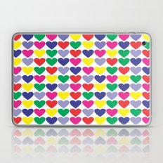 Heart Pattern Laptop & iPad Skin