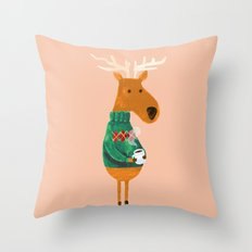 Hot Coffee Throw Pillow