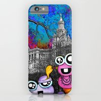 iPhone & iPod Case featuring Visitors by Tyler Resty
