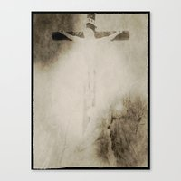 Touched by grace Canvas Print