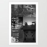 Gillytiger Art Print
