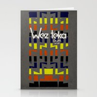 Eastachi -Wezteka Union. Stationery Cards