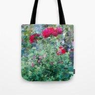 Pastel Garden 3 Tote Bag