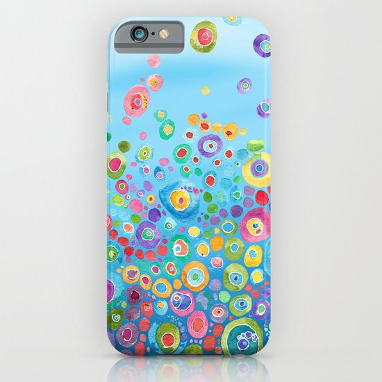 Inner Circle - Blue iPhone & iPod Case