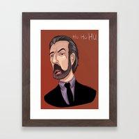 Ho Ho Ho Framed Art Print
