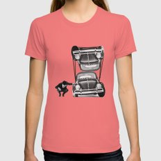 VW Tie-Down Womens Fitted Tee Pomegranate SMALL
