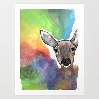 Deer Dream Art Print