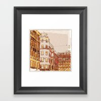 The Lonely Bird Framed Art Print