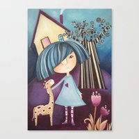 My Lovely Pet Canvas Print