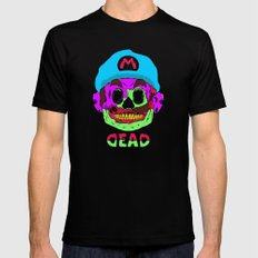Dead Mario SMALL Black Mens Fitted Tee