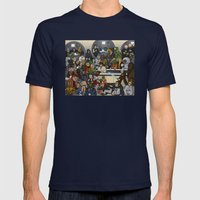 The Mos Eisley Cantina Mens Fitted Tee Navy SMALL