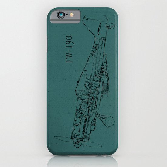 FW - 190 (Colour) iPhone & iPod Case
