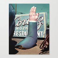 Give Yourself A Big Hand Canvas Print