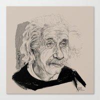 Albert Einstein (scientist) Canvas Print