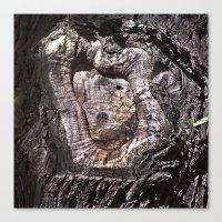 Holy Archaic Maria Canvas Print