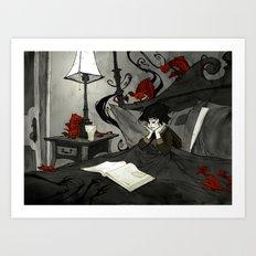 All Hallows Read Art Print