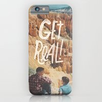iPhone & iPod Case featuring GET REAL! by Josh LaFayette