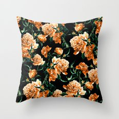 Peonies II Throw Pillow