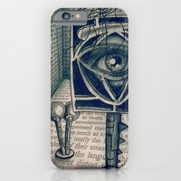 iPhone & iPod Case featuring i saw everything by ASTRA ZERO