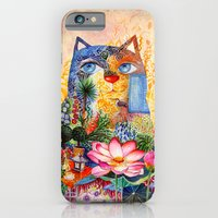 Lotus Cat iPhone 6 Slim Case