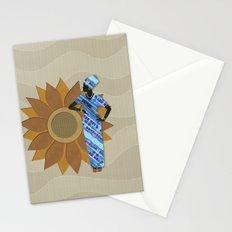 Sunflower Lady Stationery Cards