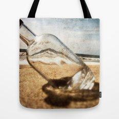Bottle On Beach II Tote Bag