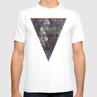 Forest Path Mens Fitted Tee White SMALL