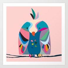 Little Birdie Art Print