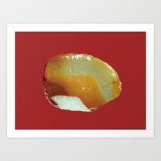 Agate 1 Art Print