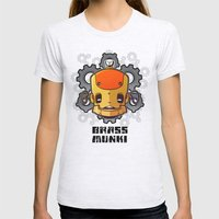 Brass Munki - Bot015 Womens Fitted Tee Ash Grey SMALL