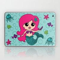 Mermaid Goals Laptop & iPad Skin
