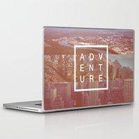 adventure Laptop & iPad Skins featuring Adventure by Zeke Tucker
